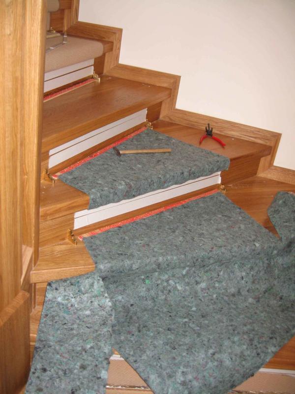 Bodenbel ge for Sisal treppe